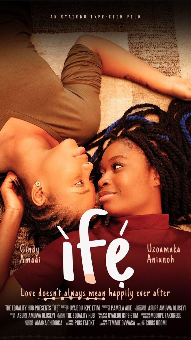 Poster van de speelfilm Ifé. Beeld Ifé