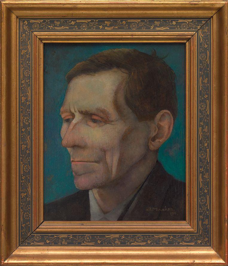 Jan Mankes, 'Portret van vader', 1914, 26,5 x 21 cm. Beeld RV