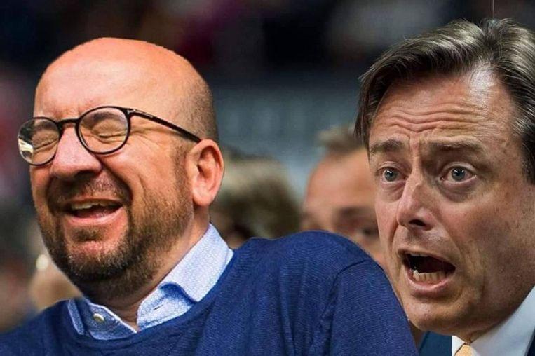 Ook onze premier Charles Michel en Bart De Wever komen in de lijst voor.