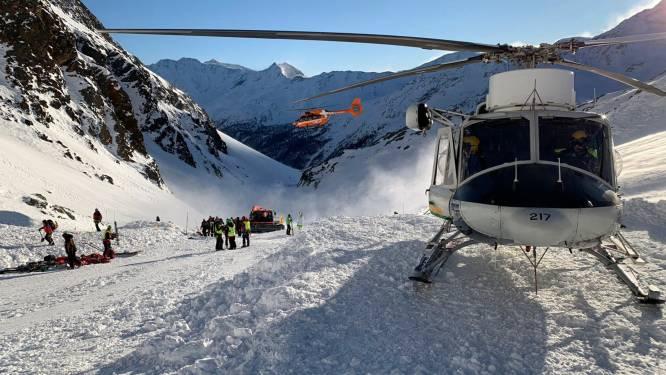 Lawines houden lelijk huis in Alpen: al vijf doden