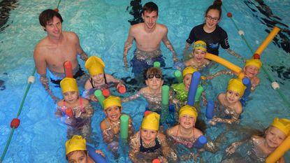 Zwemschool H2O'tje barst bijna uit haar voegen