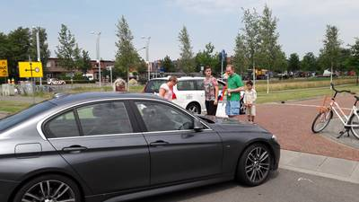 Chaos in Teteringen door wegafsluiting