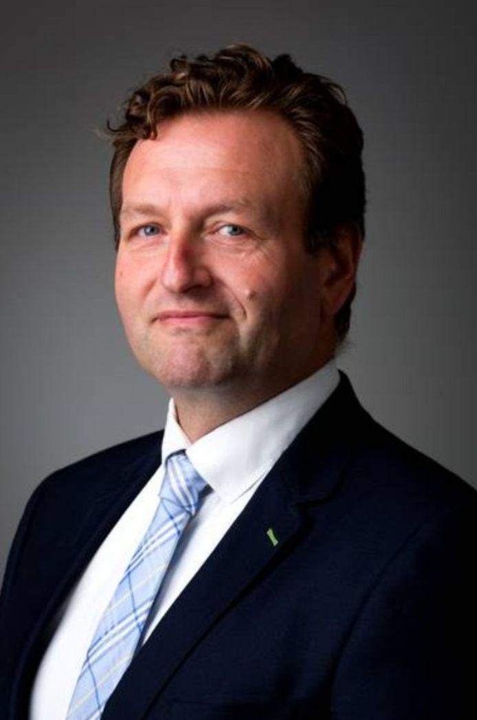 Lijsttrekker van Gemeente Belangen Arjen Lagerweij.