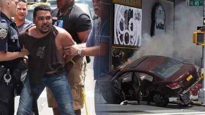 Auto rijdt in op voetgangers op Times Square: 1 dode, 22 gewonden