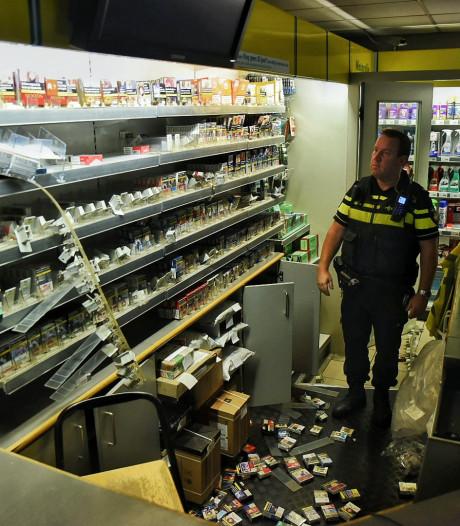 Grote sigarettenbuit bij inbraak in BP in Oisterwijk, veel politie op de been, inbrekers toch niet gepakt