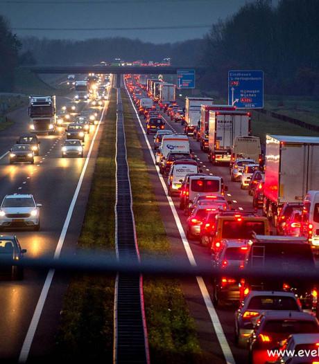 Rijk en provincies reserveren 103 miljoen voor aanpak A50