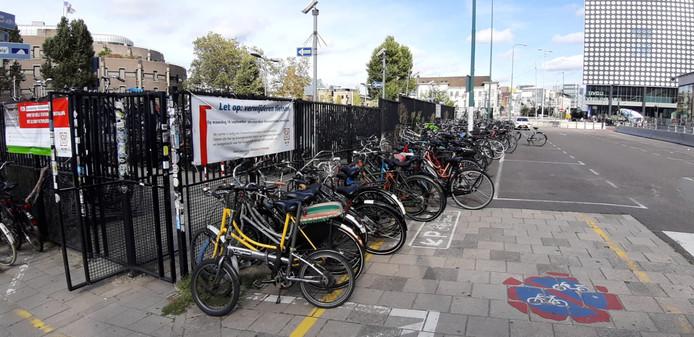 Vanaf maandag 16 september moeten alle fietsen weg zijn bij Smakkelaarsveld