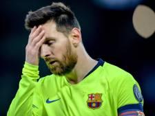 Lionel Messi oublié... par le bus du Barça