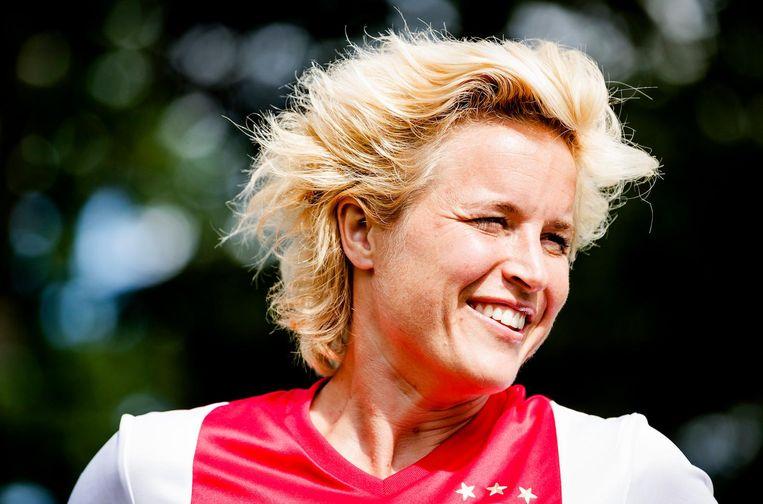 Daphne Koster, initiatiefnemer van talententrainingen voor meisjes. Beeld ANP