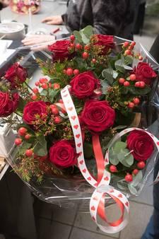 Bloemisten hebben topdag zonder topwinst op Valentijnsdag