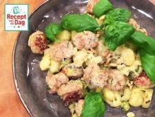 Recept van de dag: Gnocchi met worst en pestosaus