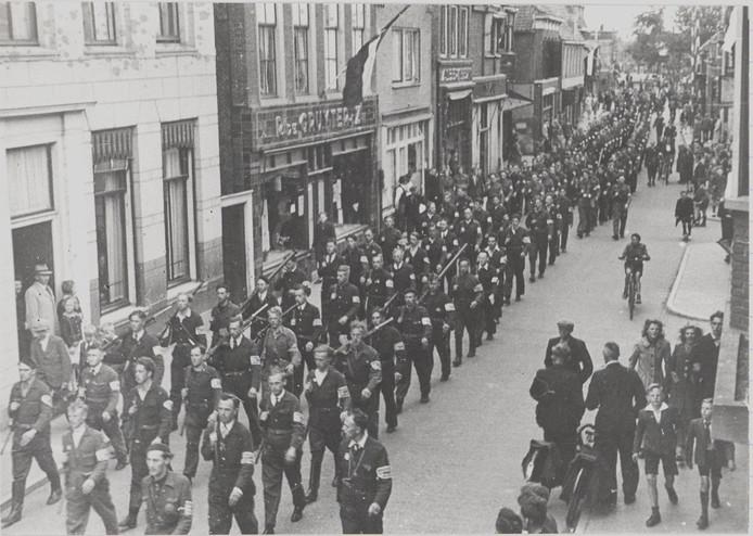 Bevrijding in Alphen, mei 1945.