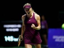 Svitolina wint ook tweede partij bij WTA Finals