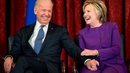 Hillary Clinton steunt Joe Biden als presidentskandidaat