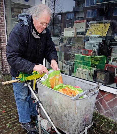 Anton Wintjes uit Oss is stadsjutter: 'Het kan me niets schelen als mensen denken dat ik een zwerver ben'