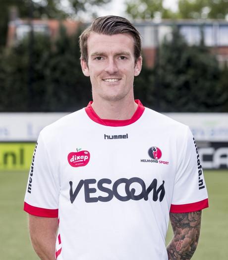 Arne Naudts maakt zijn eerste goals voor Helmond Sport in oefenwedstrijd