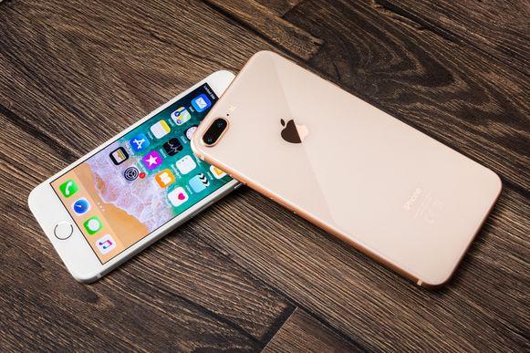 De iPhone 8.