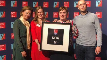Bouwbedrijf DCA verkozen tot een van beste werkgevers in België