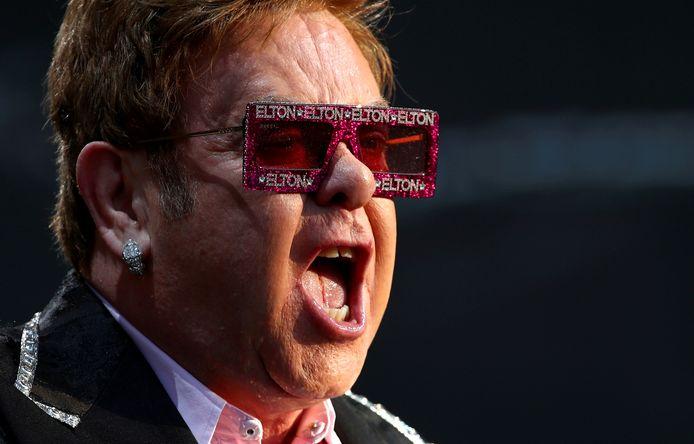 """En 2019, Elton John a sorti son autobiographie """"Moi: Elton John""""."""