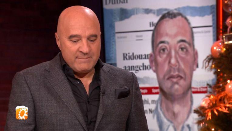 John van den Heuvel emotioneel na arrestatie Taghi. Beeld RTL Boulevard