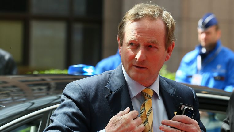 De Ierse premier Enda Kenny. Beeld EPA