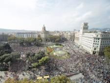 Opnieuw massale protesten in Catalonië tegen gevangenisstraffen separatistische leiders