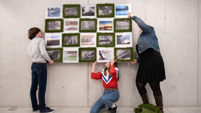 Scholieren maken kunst voor expo 'Mozaïek'