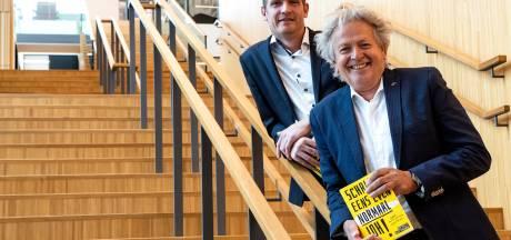 Raaltenaren Rick en Willem gaan met boek schrikbarende schrijftaal te lijf: 'Op school gaat al veel fout'