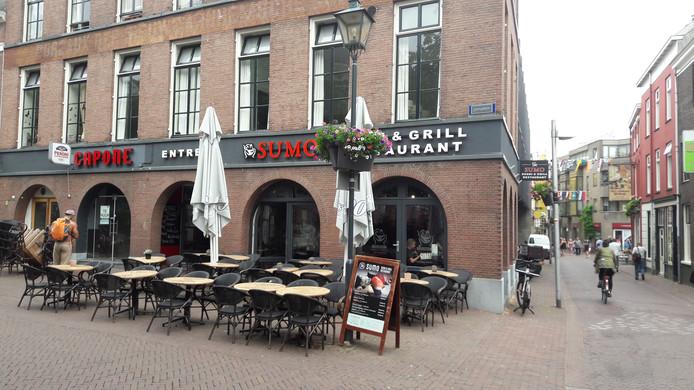 Restaurant Sumo aan het Jansplein in Arnhem.
