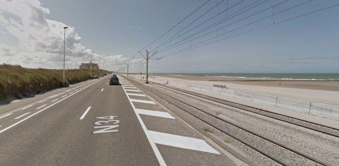L'accident s'est produit juste après 23 heures entre Raversijde et Middelkerke.