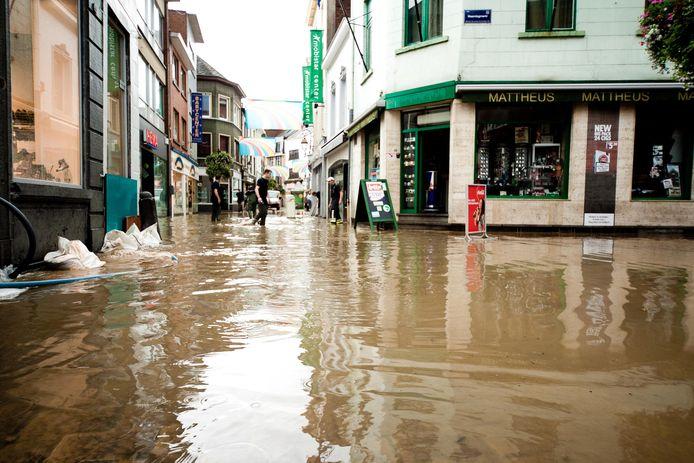 Inondations à Halle, en 2011 (archives).