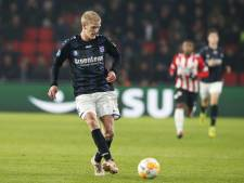 Thorsby pas weer in actie in 2019 bij Heerenveen