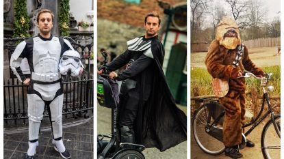 IN BEELD. De week van Sam De Bruyn als 'Star Wars'-held