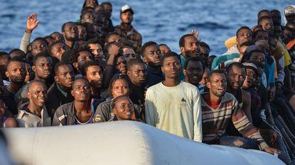 Aantal illegale grensoverschrijdingen in Europa daalde met 72%