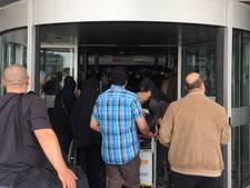 Extra drukte bij Rotterdam Airport door acties marechaussee