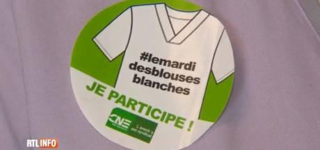 Les blouses blanches se mobilisent à nouveau à Liège
