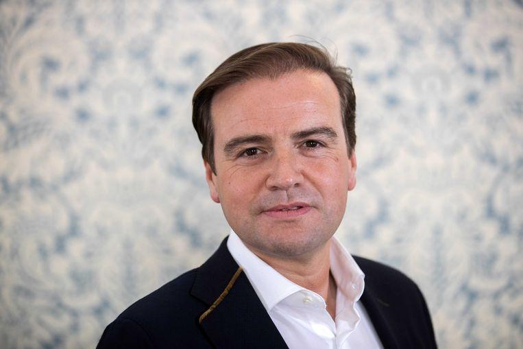 Malik Azmani, EU-lijsttrekker namens de VVD. Beeld ANP