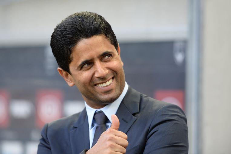 Nasser Al-Khelaïfi, voorzitter van PSG.