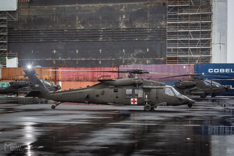 Begin dit jaar was er vanuit Zeebrugge ook al een logistieke operatie in het kader van Atlantic Resolve.
