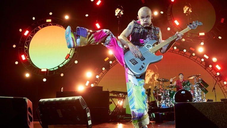 Flea bij het Rock am Ring music festival in Mendig (Duitsland). Beeld null