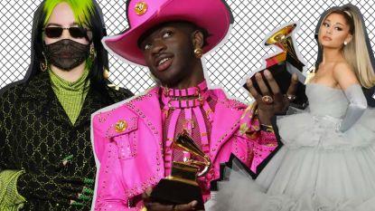 Dit waren de opvallendste outfits op de rode loper van de Grammys