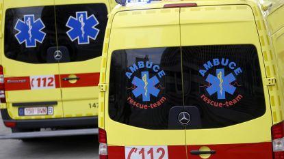 Twee zwaargewonden na botsing met vier wagens op E314 in Houthalen