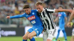 MULTILIVE BUITENLAND: Mertens en Napoli zijn de betere ploeg, maar wachten halverwege nog op een doelpunt