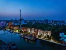 Bouwplan naast de Euromast wankelt: GroenLinks en Leefbaar keren zich tegen nieuwe wijk