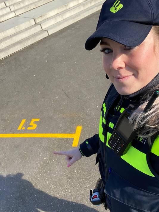 Agente Joyce Veenvliet.