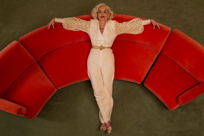 'Toen ik begon in deze business, werd de term 'fuckable' gehanteerd om te zien of je werk kon krijgen,' vertelde Sharon Stone vorig jaar aan Vogue. Beeld SAEED ADYANI/NETFLIX