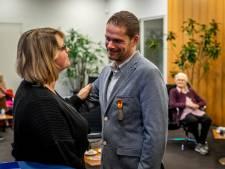 Met gevaar voor eigen leven haalde Gemertse Giel zijn overbuurvrouw uit brandend huis: 'Ik zou het zo weer doen'