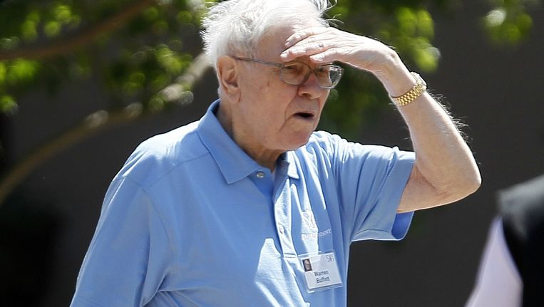 Warren Buffet Beeld reuters