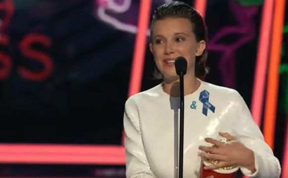 'Stranger Things'-actrice Millie Bobby Brown.