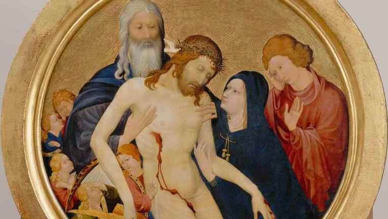 Het Louvre leent bij hoge uitzondering Maelwaels La Grande Pieta uit aan het Rijksmuseum. Beeld -